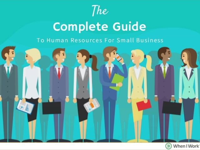 The Complete Guide To Human Resources