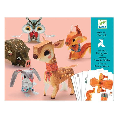 Origami - Woodland Animals