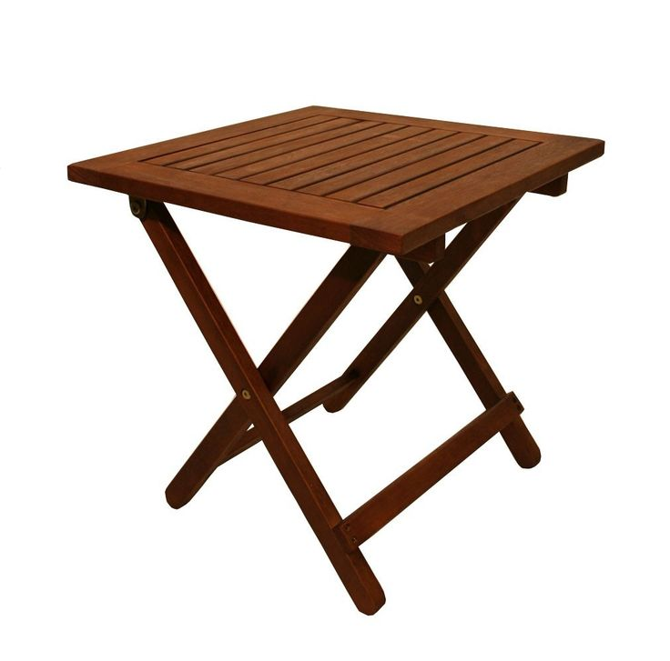 Outdoor Folding Side Table Plans