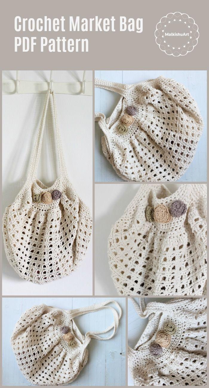 Crochet Vintage Pdf Bag Pattern Video Tutorial Crochet Bag Pdf Pdf Crochet Market Bag English Pdf Diy Market Bag Crochet Bag Crochet Market Bag Crochet Bag Pattern Crochet
