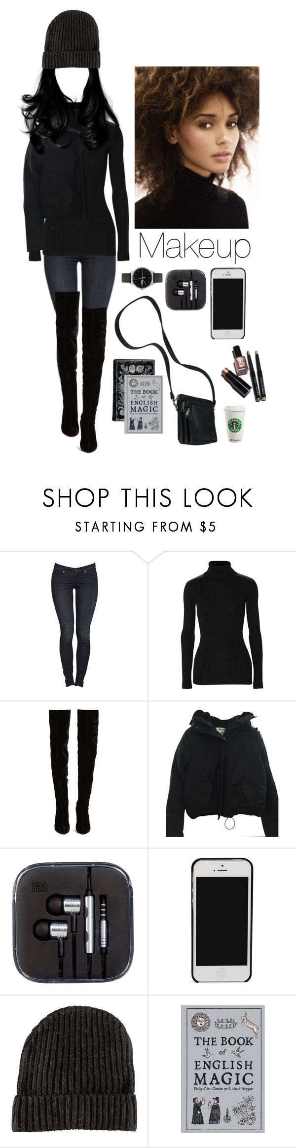"""""""A modern witch."""" by sweetdreamer13 ❤ liked on Polyvore featuring Autumn Cashmere, Christian Louboutin, Acne Studios, H&M, CO, Uniform Wares, Bobbi Brown Cosmetics and modern"""