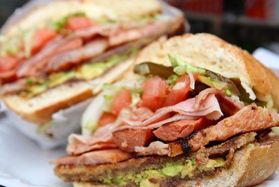 Tortas - Mexican Sandwiches