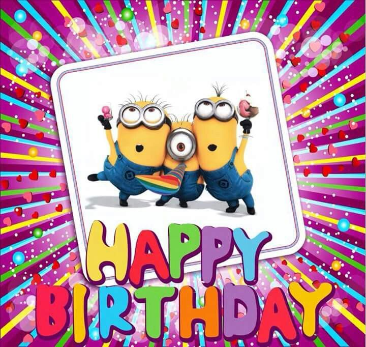 Happy birthday Minions                                                                                                                                                                                 More