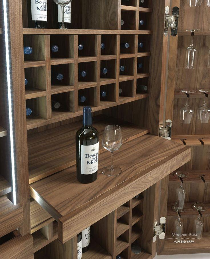 cambusa wine vineria riva  liquor cabinetwine barswooden