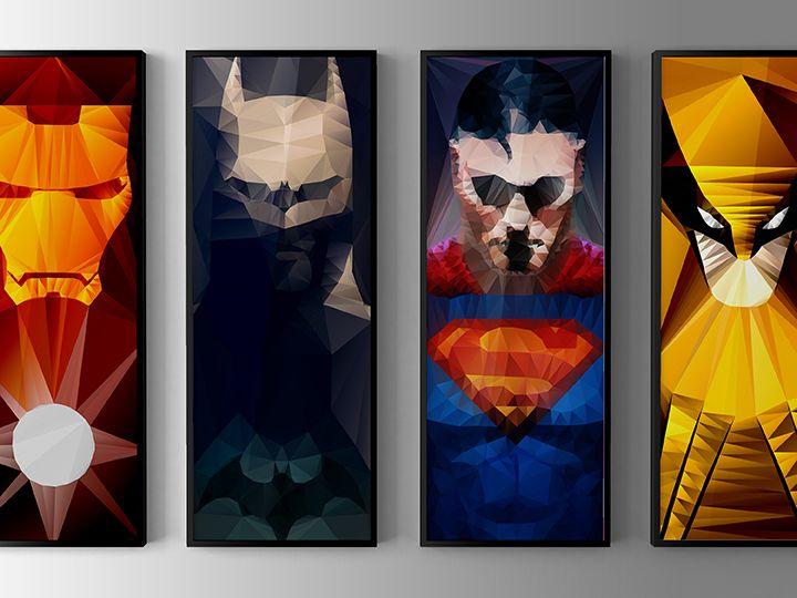 A kind of heros – Superman et Batman complète la collection de...