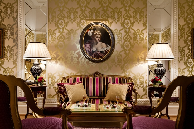 The Faberge Suite. Grand Hotel Europe.