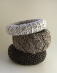 reuse old sweaters, cover cheap cuff bracelets, and instant chic!