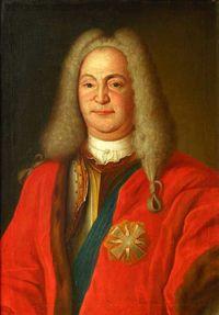 Ян Михал Сологуб (около 1697  — 8 мая 1748 ) — государственный деятель Великого княжества Литовского ,