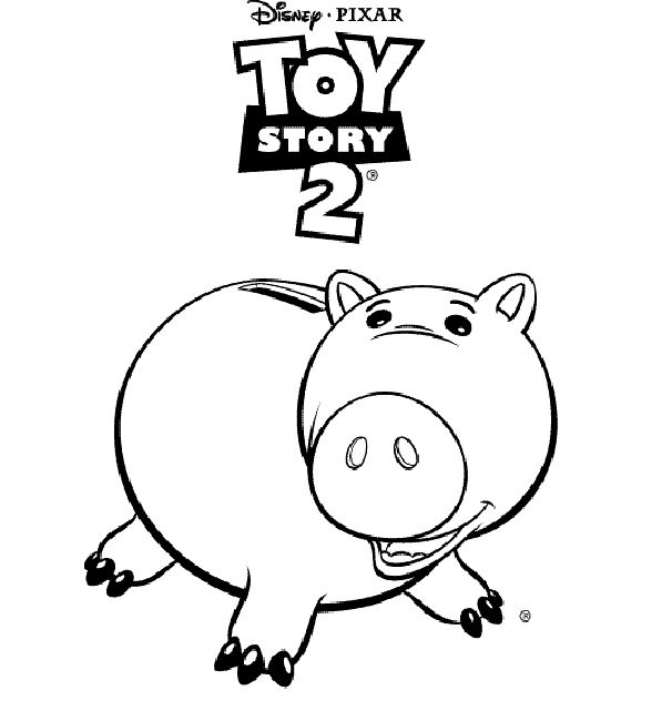 toy story 2 coloring pages online