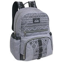 Kelty Backpack Diaper Bag  Aztec Grey/Black with Daisy Chain