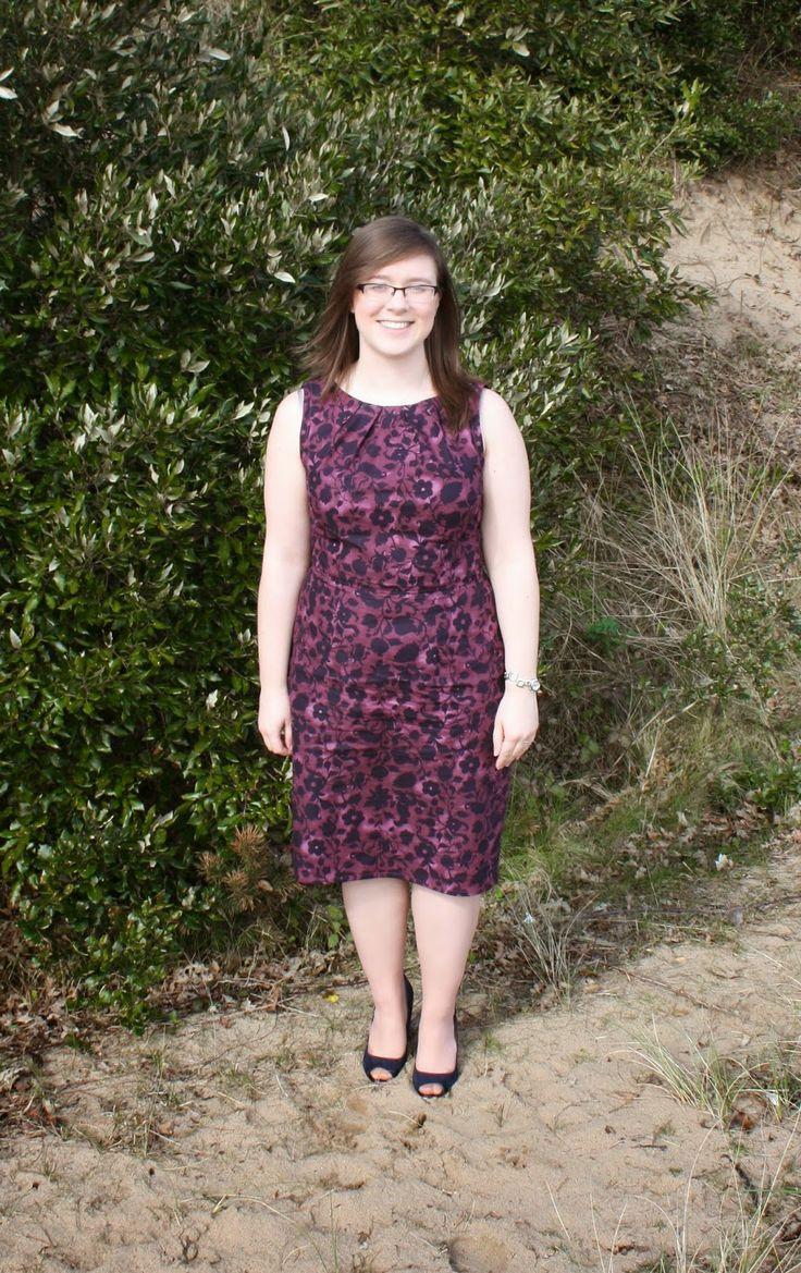 New Look 6184 dress - Handmade by Rebekah