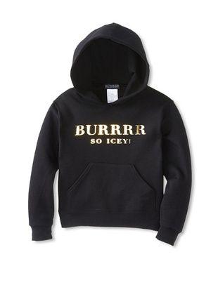 91% OFF Bltee Kid's Burrrr Hoodie (Black)