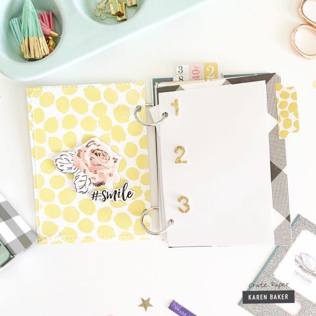 How-to: Gratitude Mini Album | Crate Paper | Bloglovin'