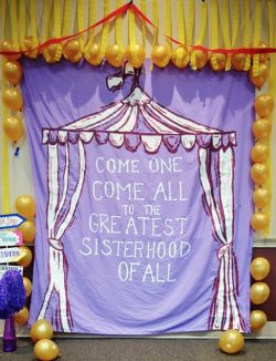 come one, come all to the greatest sisterhood of... | sorority sugar
