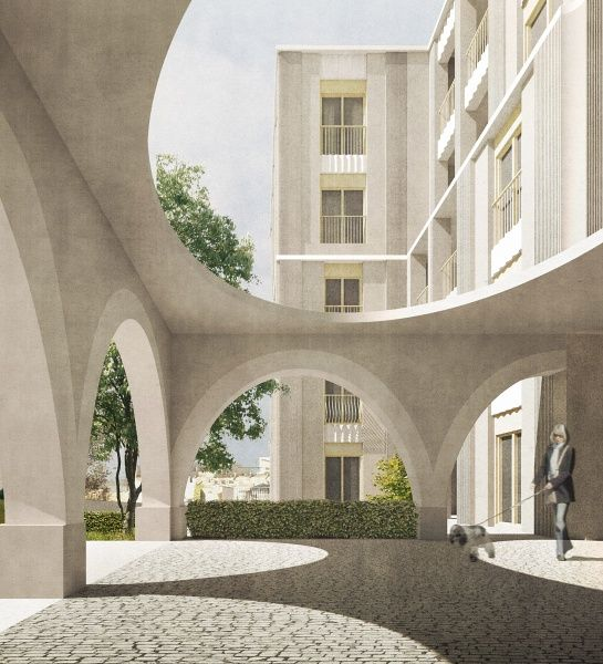 Sergison Bates architects - Planning application lodged for a new care home in Bristol