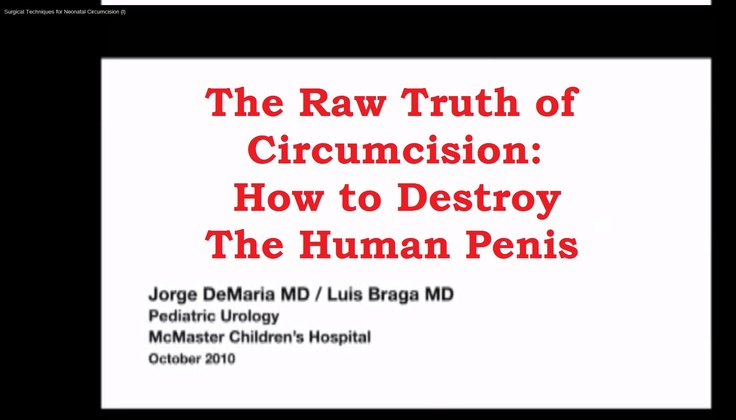 How to destroy the human penis