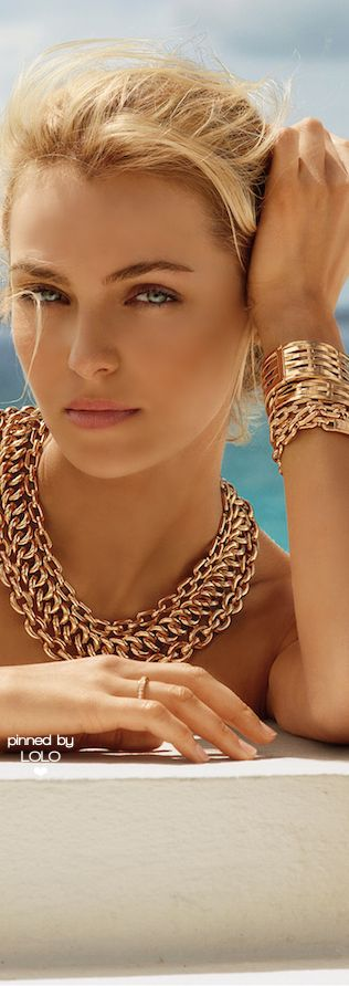 Valentina Zeliaeva for Ralph Lauren Jewelry   LOLO❤