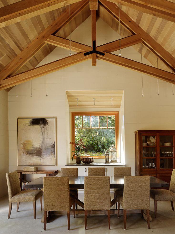 living room track lighting%0A Woodside Residence  contemporary  dining room  san francisco  by  Charlie Barnett Associates