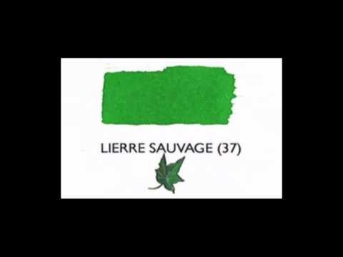 J. Herbin Ink French Pronunciation Reference: Paris'te mürekkep  alacak herkesin hakim olması gereken bir rehber :)