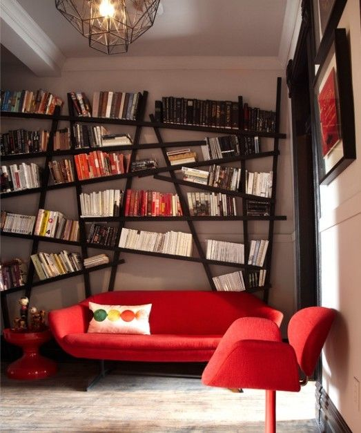Are you a book lover and like to store book every corner in home? Books do not have to store in study room as we usually do. Every room in the house is good place to store books, if you have creative bookshelves.