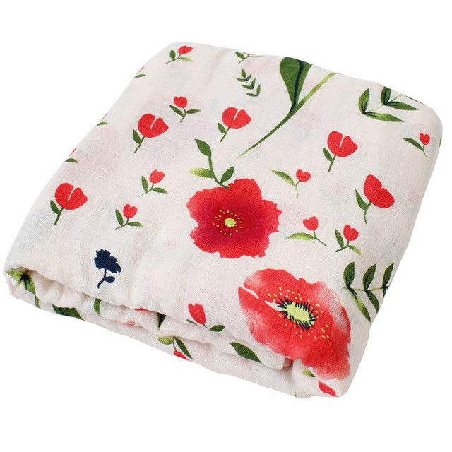 Muslin Baby Blanket For Newborns Soft Breathable Swaddle For Infant Bamboo Cotton Baby Bedding Bath Towel Baby Warp 120*120cm