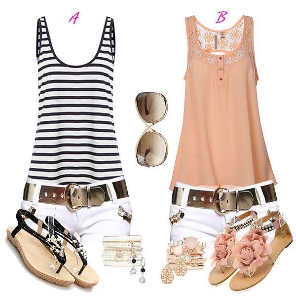 Perfact match of summer women clothes ! http://www.dressve.com/shop