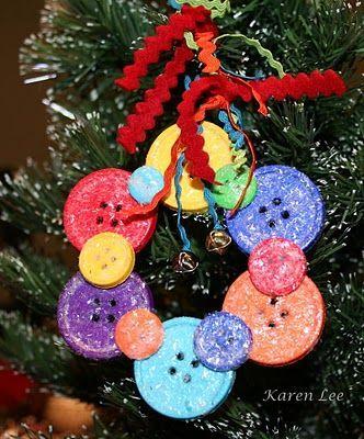 button ornament: