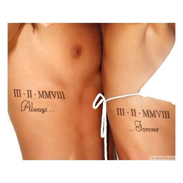 31 World's Best Matching Tattoos For Couples. Unique Couple Tattoo Design Ideas You'll Love. and other apparel, accessories and trends. Browse and shop related...