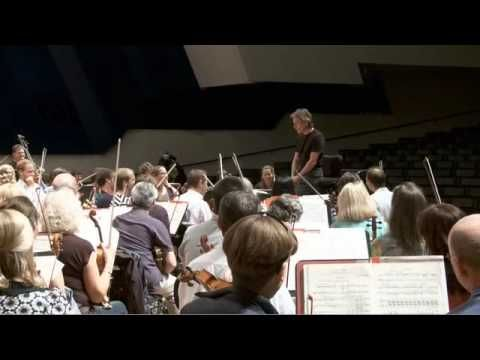 Esa-Pekka Salonen in Helsinki.  He has some interesting and important ideas about conducting.