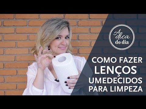 LENÇO UMEDECIDO CASEIRO PARA LIMPEZA DYI