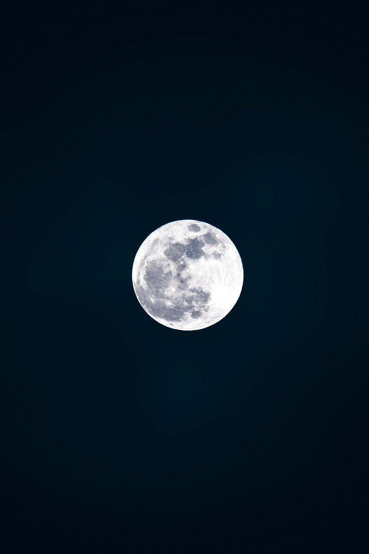 Skye Moon Black White Night Pexels Public Domain