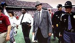"""Best All-Time NCAA College Football Coach -- Paul """"Bear"""" Bryant (September 11th, 1913 - January 26th, 1983)."""