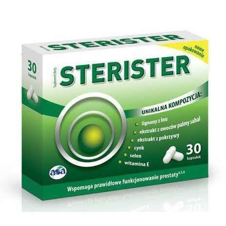 STERISTER x 30 capsules, frequent urination at night