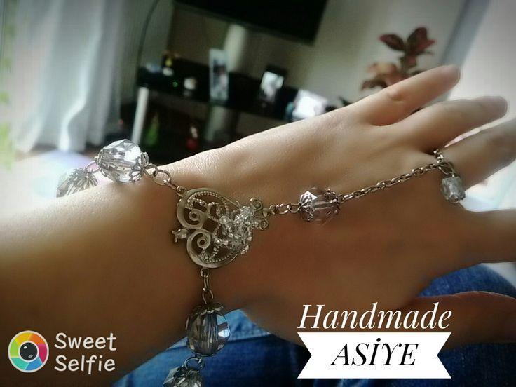 #takı #handmade #şahmaran #bileklik #elemeği