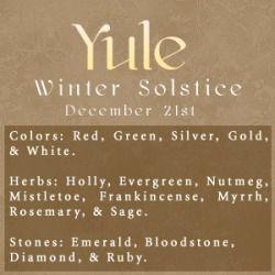 ☆ Yule :→ Winter Solstice ☆