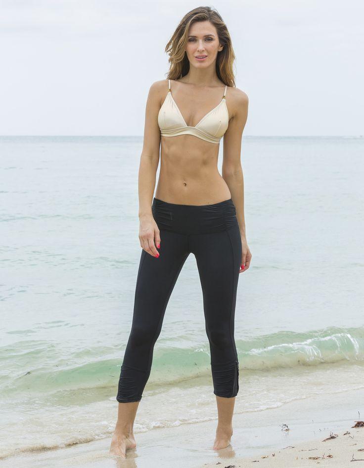 Perfect for paddle boarding! (http://www.kasanasea.com.au/ladies-black-surf-swim-leggings-cabana-life/)