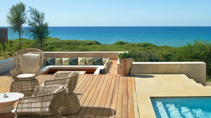 Enjoy barbeque moments at your privacy, The Romanos, Costa Navarino