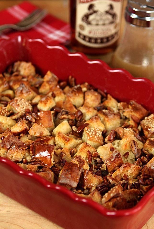 Boozy Bread Pudding   Creative-Culinary.com