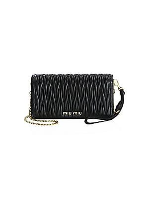78e21b64ab0 Miu Miu Mini Bandoliera Leather Shoulder Bag | Shoes & Bags in 2019 ...
