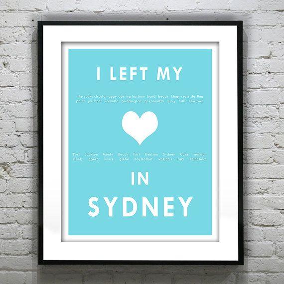 Sydney Australia  I Left My Heart In Sydney  by AnInspiredImage