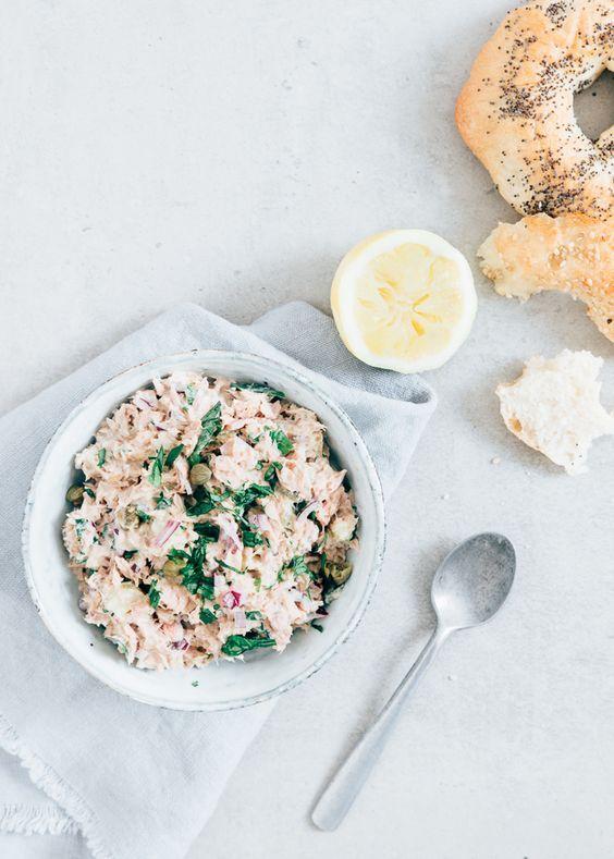 Tonijnsalade homemade #tunasalad
