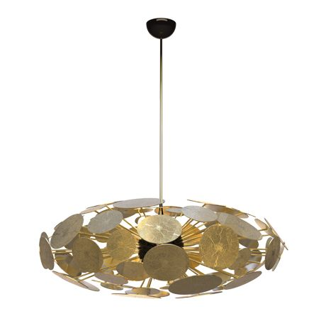 Newton is an aluminum eliptic suspension lamp that brings a unique ambient lighting to every luxury space