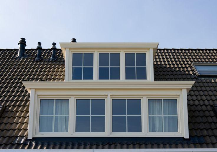 Kunststof dakkapel met klassieke daklijst | Knipping - Knipping.nl