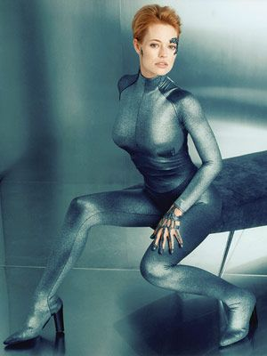 Star Trek: Voyager's Seven of Nine    ( Jeri Ryan). Another cyborg, but what a cyborg...