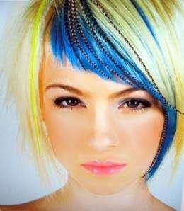 hair chalking hair chalking hair chalking!!! IM doing!: Hair Colors, Blue Hair, Hairchalk, Hair Style, Bangs, Hair Trends, Feathers, Funky Hair, Hair Chalk