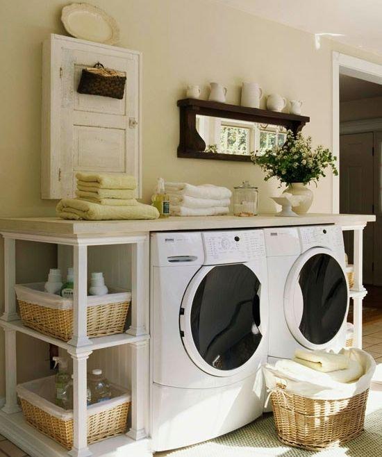 Wäscheraum-Einrichten