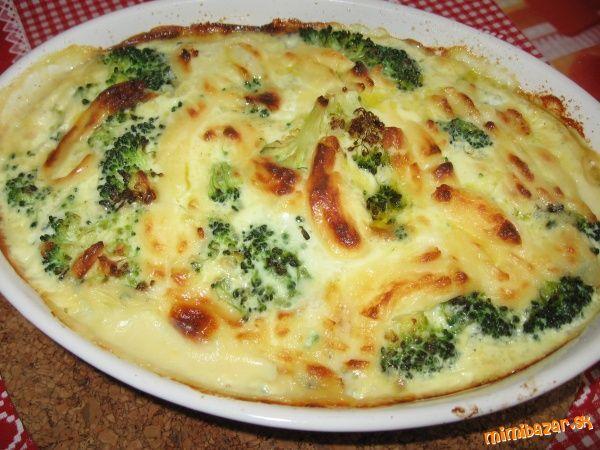Zapekaná brokolica so syrom
