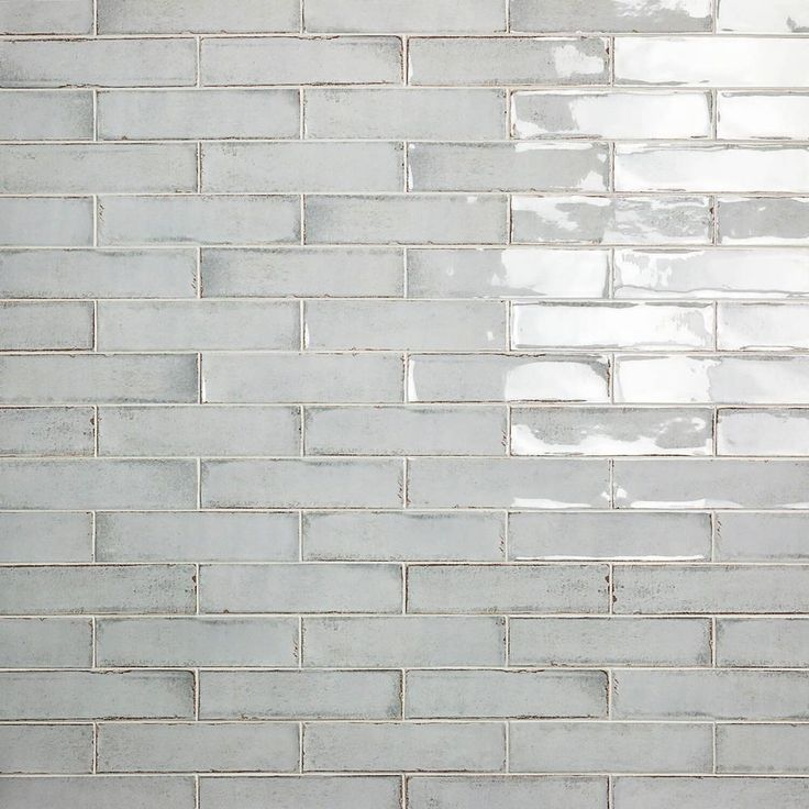 Ivy Hill Tile Moze Gray 3 in. x 12 in. 9 mm Ceramic Wall Tile (22 piece 5.38 sq. ft./ Box)