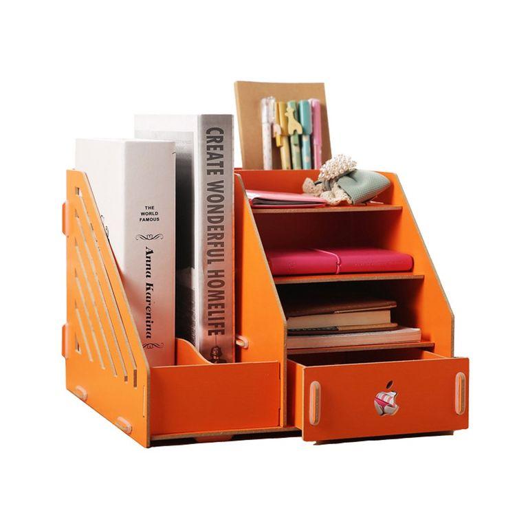 Desktop File Holder Stationery Organiser Desk Tidy Made