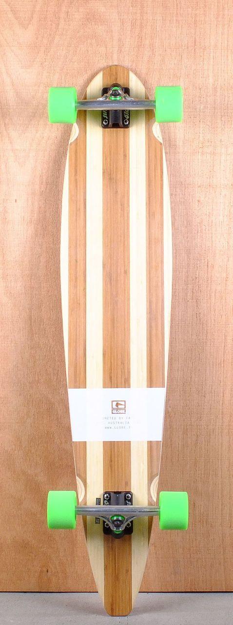 "Globe Prebuilt 44"" Big Pinner Bamboo Longboard Complete Bottom"